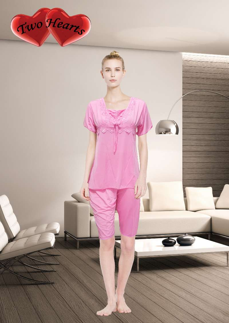 Pinky Stylish Womens Nightwear Dress